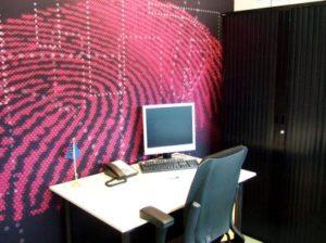 Mobiele wand kantoor