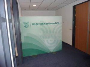 Roomdivider kantoor bank