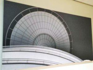 Fotowand akoestisch geluidabsorberend wanddecoratie