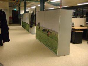 fotopaneel akoestisch archiefkast kantoortuin