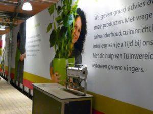 Textielframe wandpaneel PR-Runner winkels