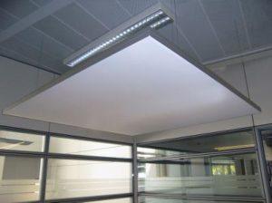Plafond element geluid dempend