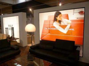 Fotowand LED woonwinkel RolfBenz