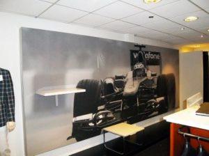 Formule 1 fotowand