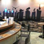 Naadloos fotobehang restaurant