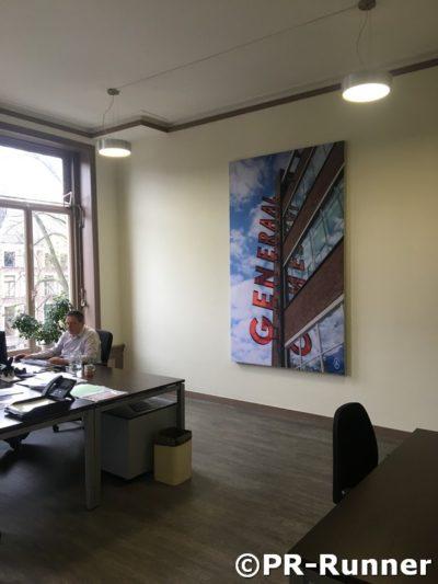 Akustikwandpaneel PR-Runner Cocon Immobilien Denkmal Herengracht
