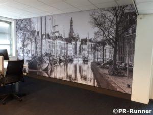 BDO Groningen schalldämmendes Wandpaneel im Büro