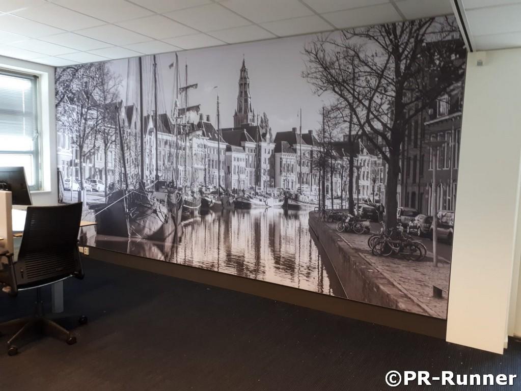 BDO Groningen akoestisch wandpaneel kantoor
