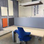 deskdivider bureauscherm akoestisch