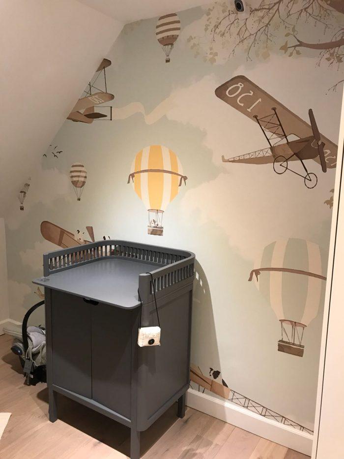 Kinderkamer behang naadloos