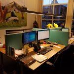 Bureauschermen akoestisch