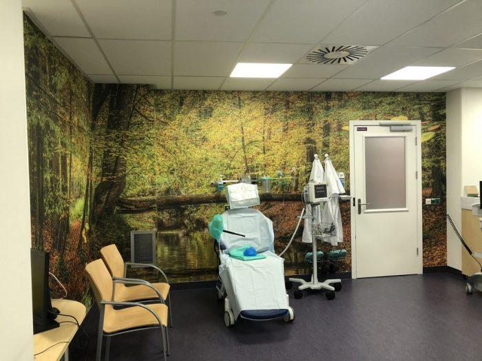 Ziekenhuis naadloos fotobehang