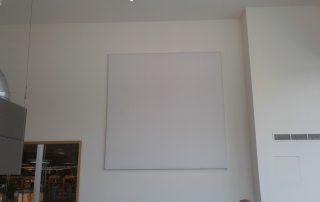 akoestisch beamer scherm