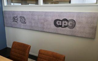 Geluiddempend akoestisch wanpdaneel spreekkamer APC - PR-Runner