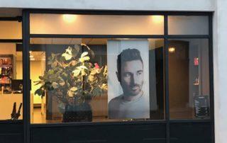 Wisseldoek PR-Runner in frame fotopaneel Salon Juppijn