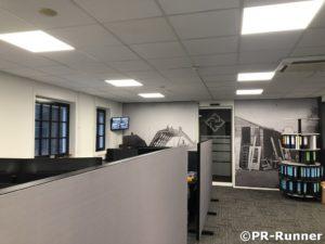 mobiele scheidingswanden kantoortuin Timmerfabriek Ebbers PR-Runner geluiddempend