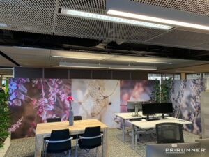 Gemeente Heerenveen flexibel in te delen kantoor met mobiele wanden PR-Runner